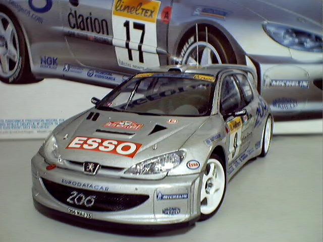 Peugeot 206 frente